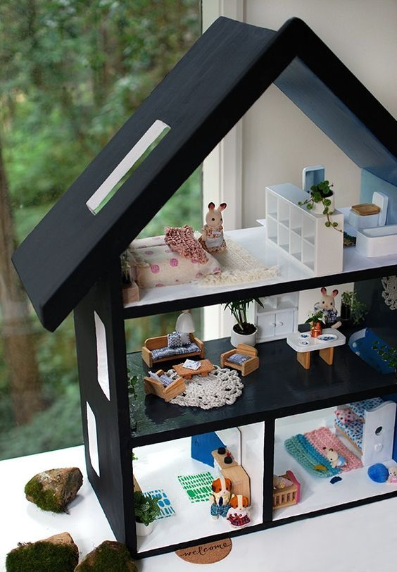 Do It Yourself Furniture Ideas: 18 Amazing Do It Yourself Doll House Ideas