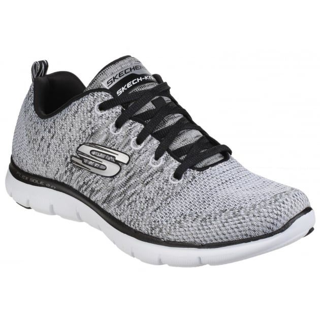 Latest Skechers Flex Appeal 2.0 Marine / Pink Trainers for Women Sale
