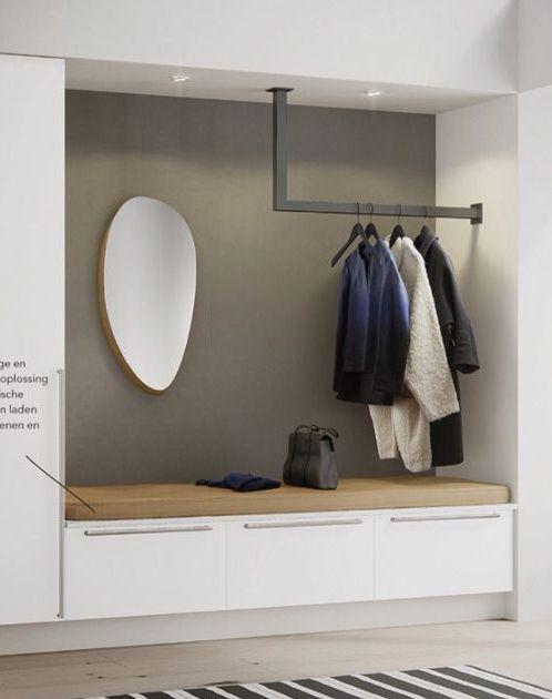 Pin Von Sonja Auf Home Interior Design Garderoben Eingangsbereich Einbauschrank Garderobe Flur Design