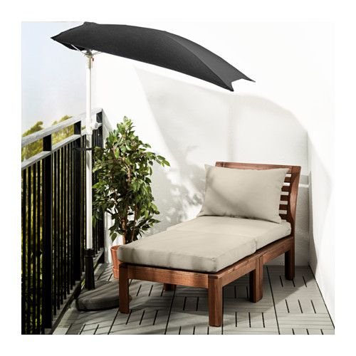 Us Furniture And Home Furnishings Sessel Mit Hocker Ikea