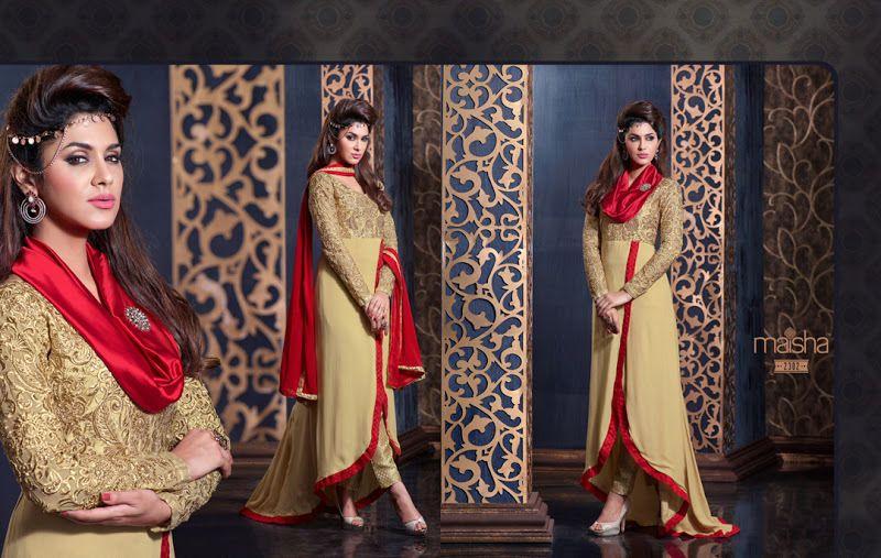 Bollywood Designer Anarkali PartyWear Indian Pakistani Salwar Kameez Ethnic Suit #Handmade #SalwarKameez