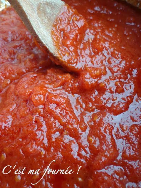 C 39 est ma fourn e la sauce aux tomates fra ches recette - Cuisiner les girolles fraiches ...