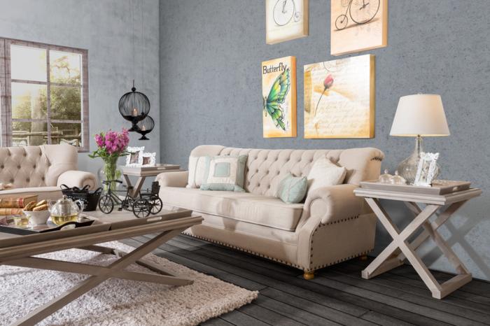 Nice Englischer Landhausstil Wohnzimmer Einrichten Holzmobel Polstermobel  Sofa Couchtisch Check More At Https://