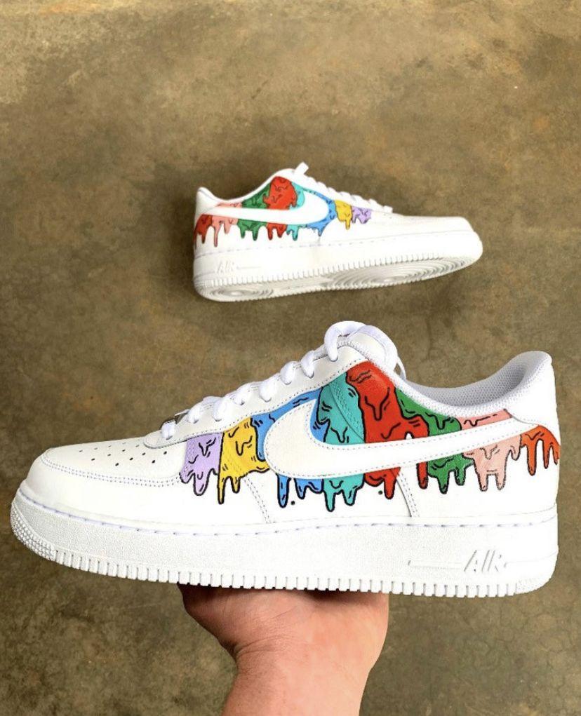 DRIP Custom Air Force 1 in 2020 Custom shoes diy