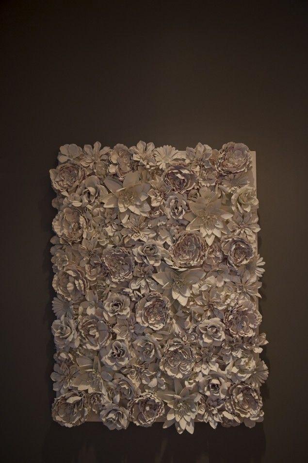 DIY floral artwork!