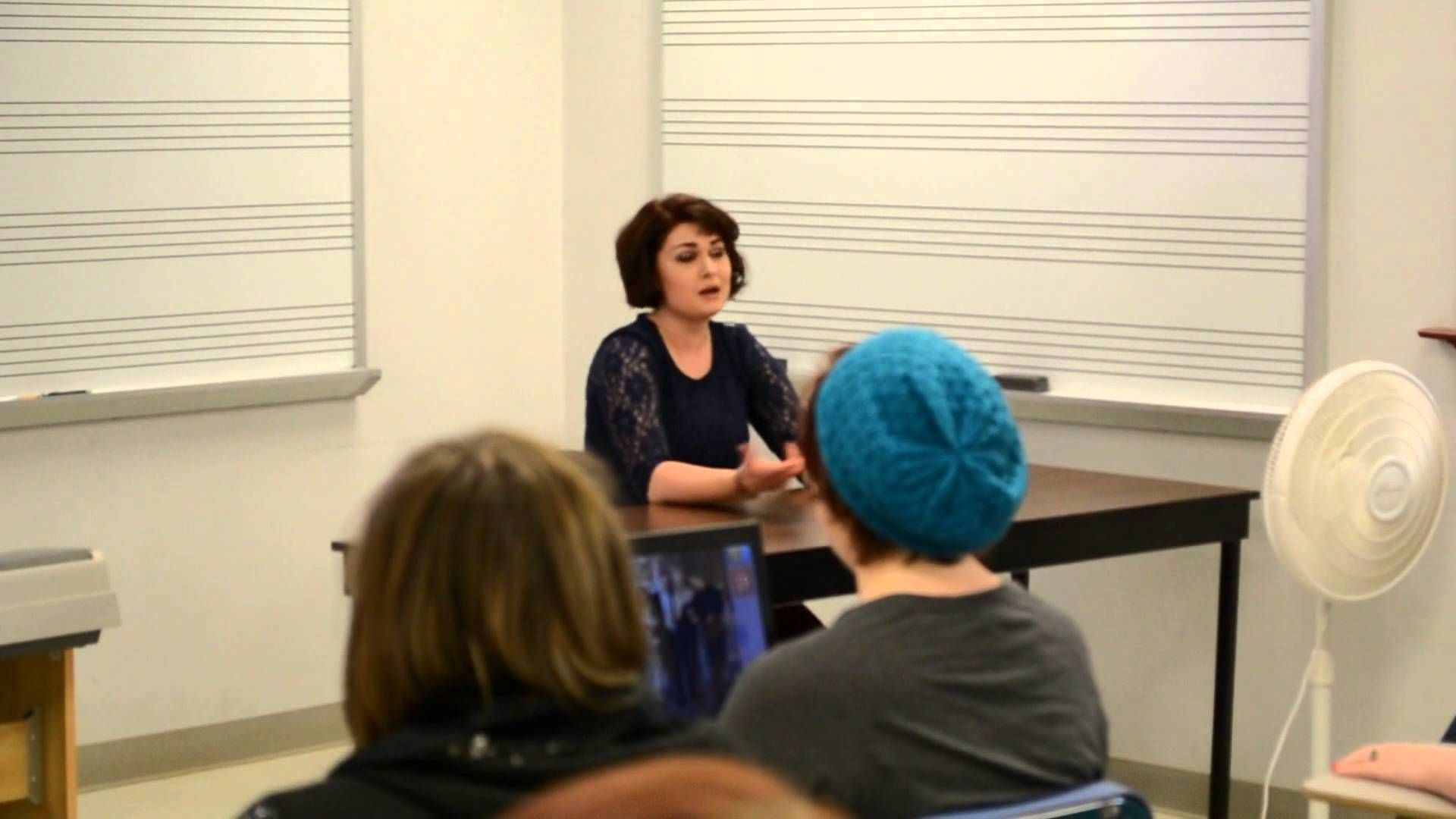Ivory Layne Performs and Shares Insights at Catawba College