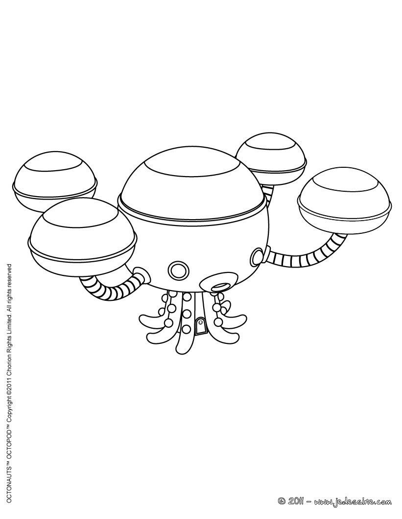 Epingle Par Lmi Kids Disney Sur Octonauts Coloriage Coloriage
