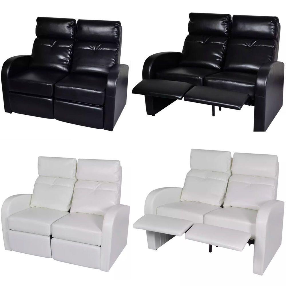 Admirable Home Theatre Recliner Loveseat Reclining Leather Sofa Couch Spiritservingveterans Wood Chair Design Ideas Spiritservingveteransorg