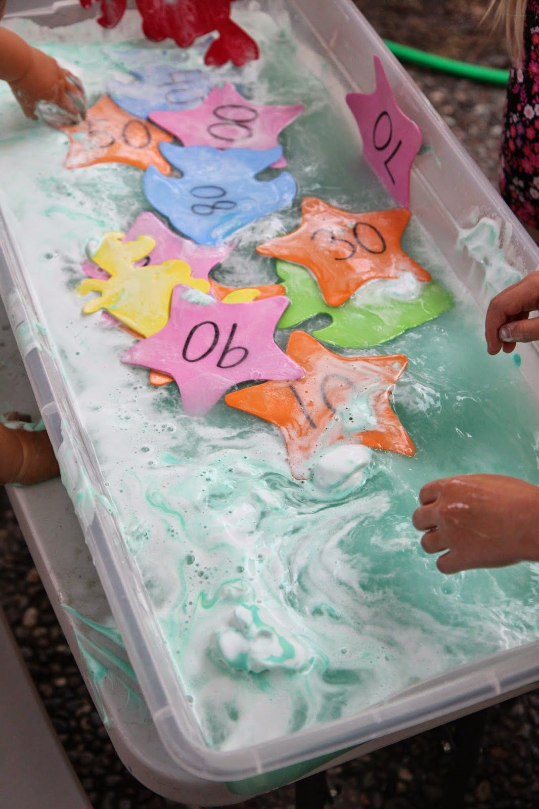 Ocean Week Number Sensory Play For Kids