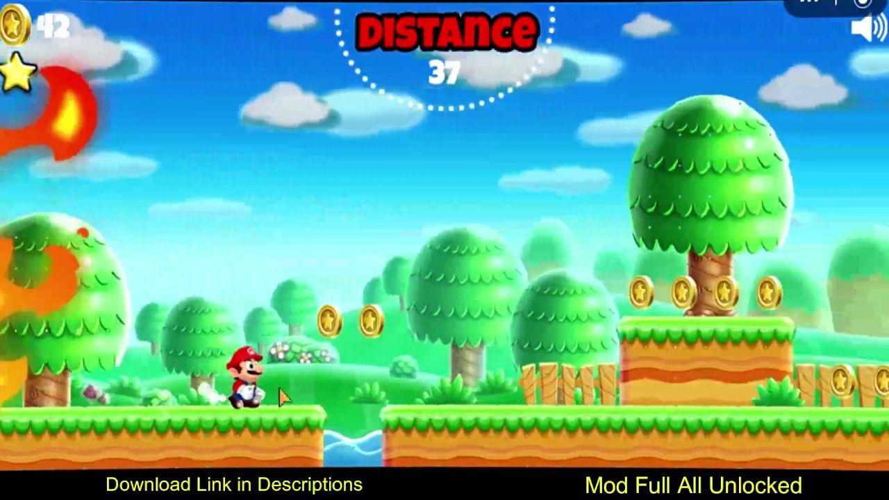 Super Mario Run Mod Apk 3 0 17 All Unlocked In 2020 Super Mario Run Mario Run Super Mario