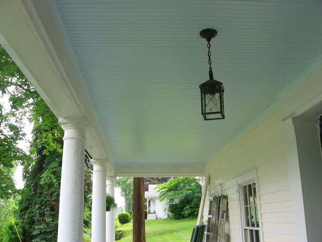 If It Haint Blue Don T Paint It Blue Porch Ceiling Haint Blue