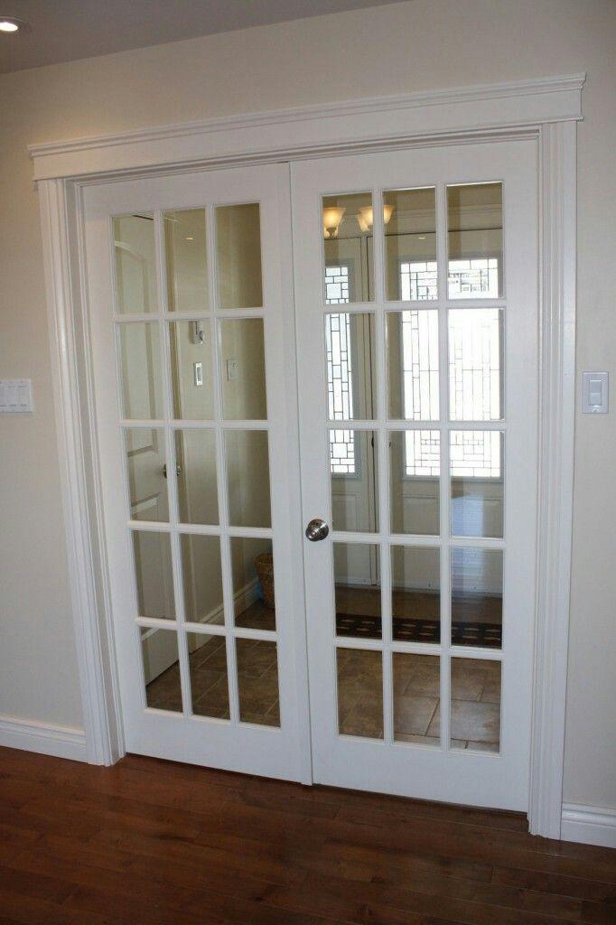White Interior French Doors Ventanas De Cocina Interiores Puertas