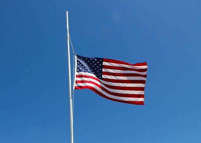 Memorial Day Flags Half Mast In 2020 Memorial Day Flag Memorial Day Memorial Day Usa