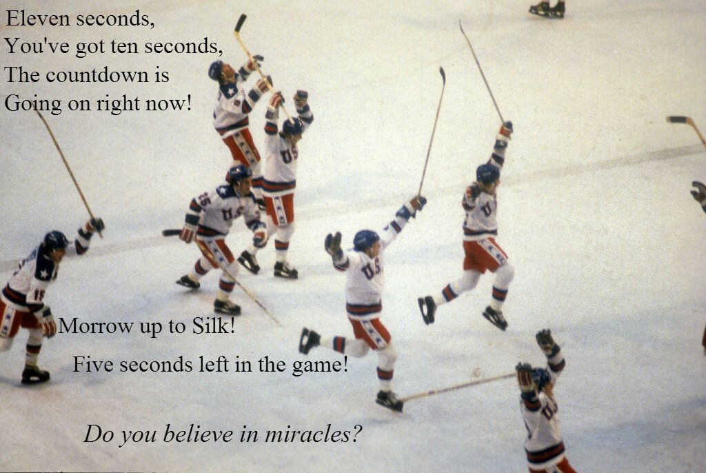 Al Michaels Miracle Quote In Miracles Al Michaels Motivational