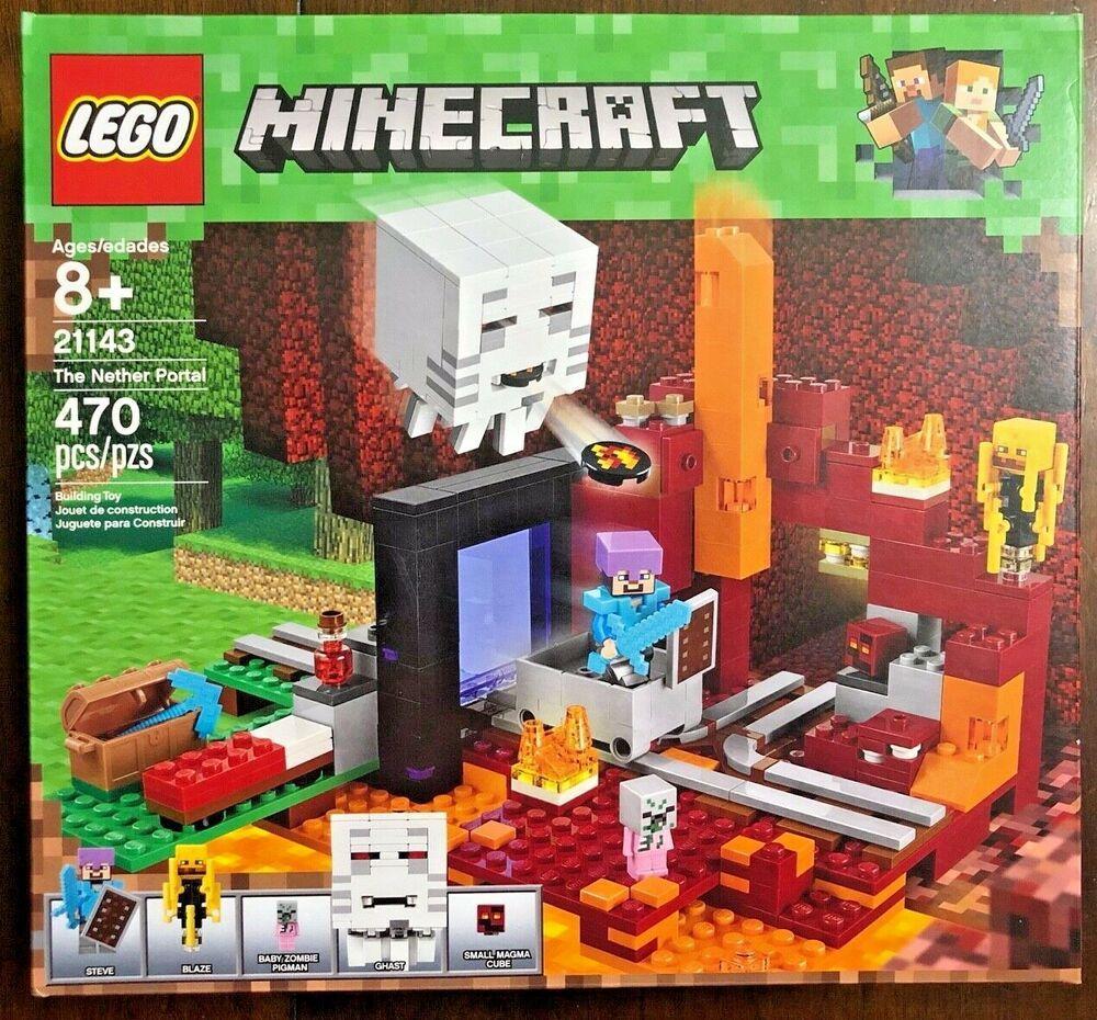 21143 LEGO Minecraft The Nether Portal 2018
