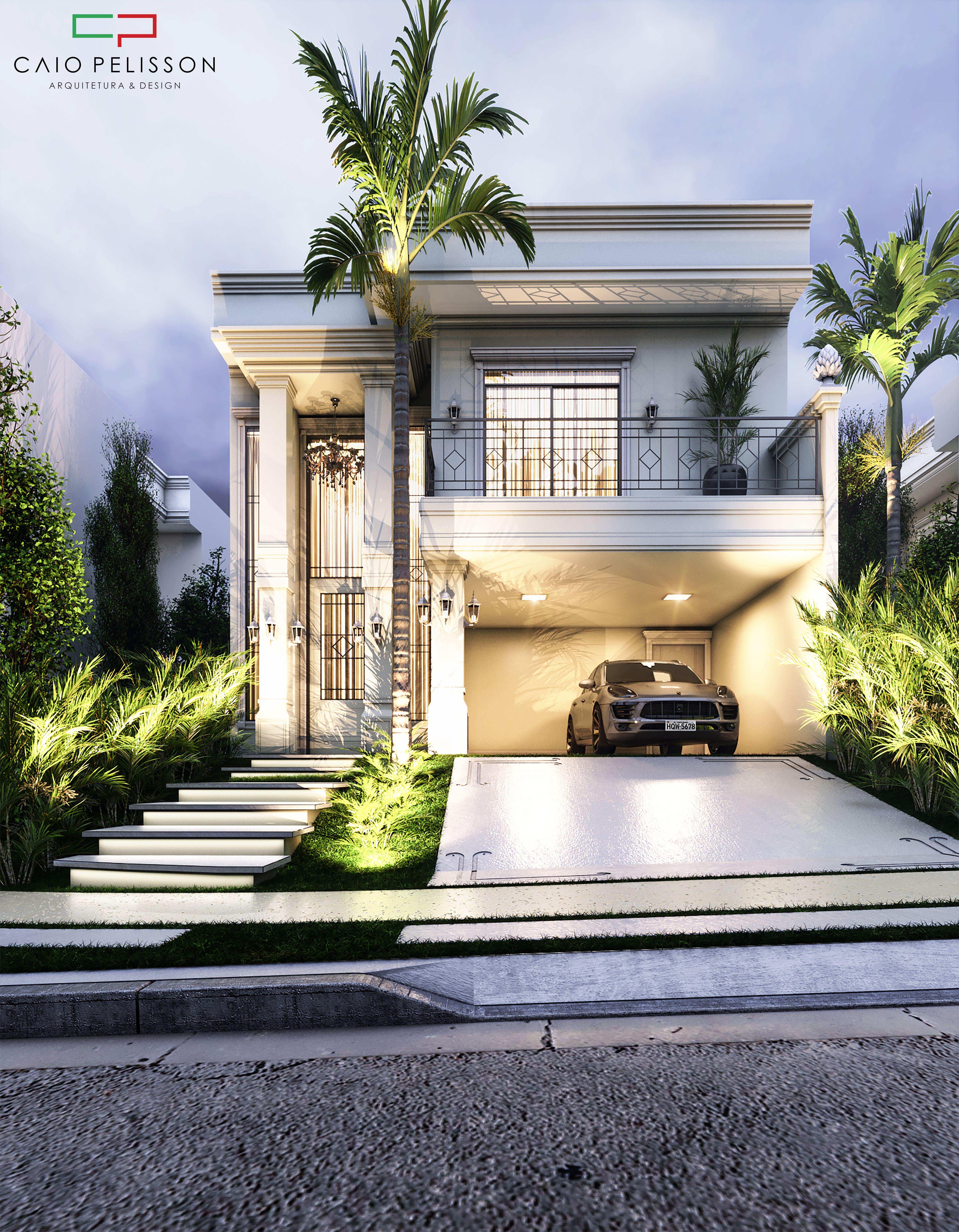 Sobrado duplex estilo neoclassico em manaus amazonas for Design moderno casa
