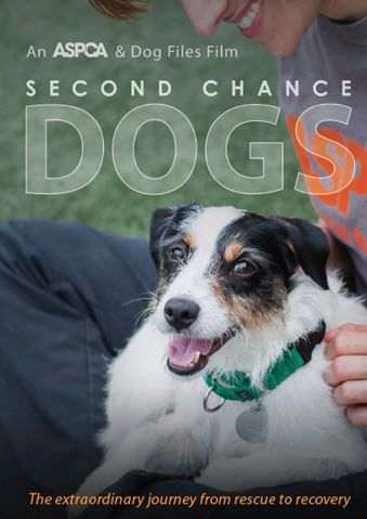 Get Inspired By The Aspca Second Chance Dogs Film Second Chance Dogs Dog Films Dog Documentary