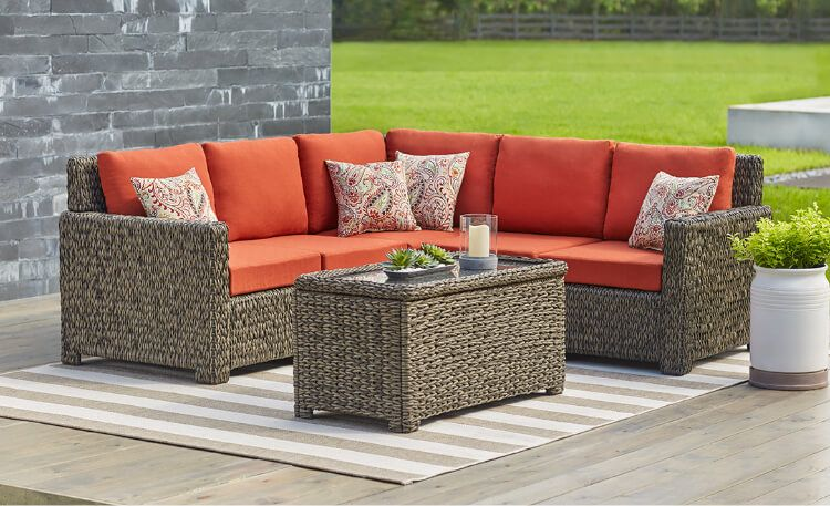 Beautify The Garden With Garden Furniture Sets Patio Furniture The Home Depot Patio Furnishings Cheap Patio Furniture Backyard Furniture