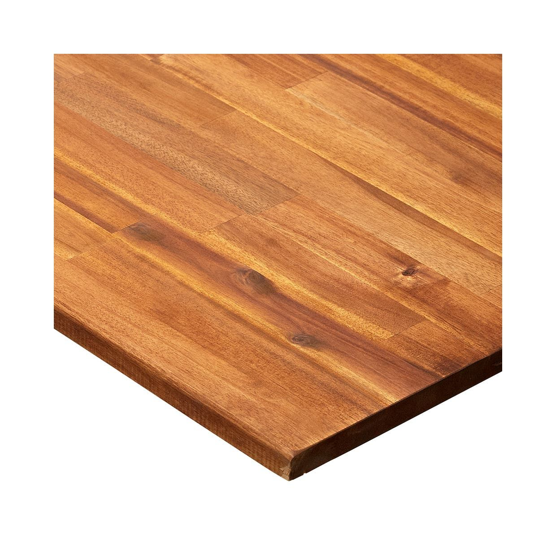 Massivholzplatte Akazie Geolt 2400 X 600 X 26 Mm Massiv Holz Toom Baumarkt