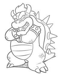 Bildergebnis Fur Bowser Ausmalbilder Zum Ausdrucken Super Mario