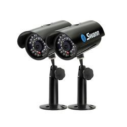 Swann SW212-MDL MaxiBrite Kit Real & Imitation Security Cameras (Black)
