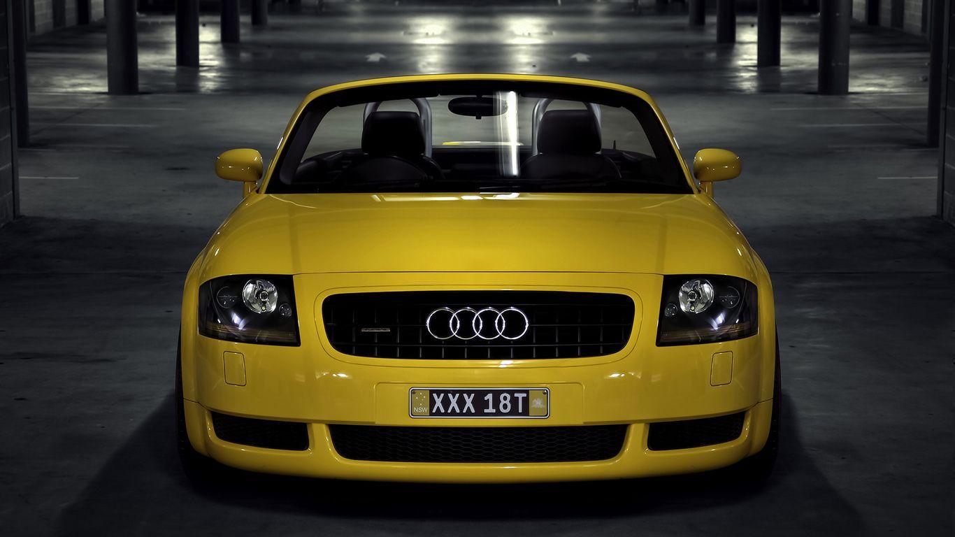 Fondos De Pantalla Audi Tt Mk1 El Audi Tt Coup Coche