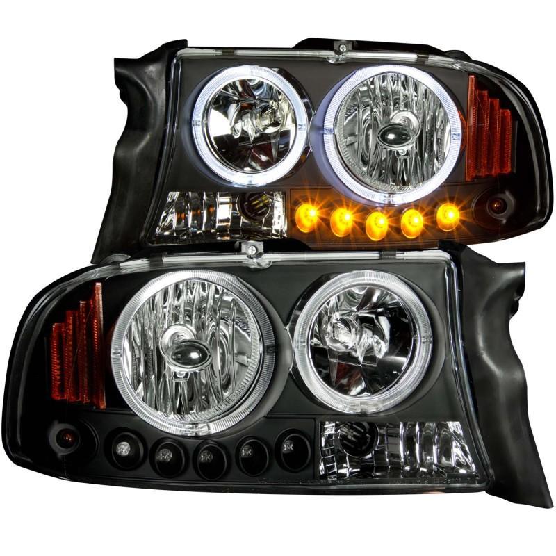 Anzo Projector Headlights Anz111194 Dodge Dakota Projector Headlights Headlights