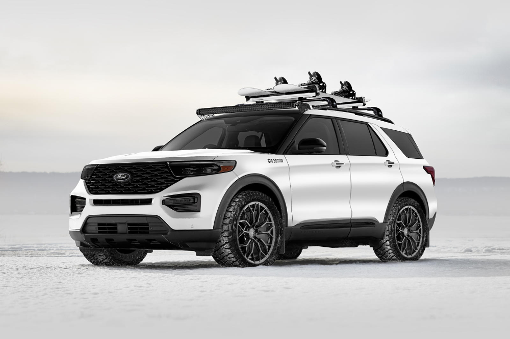 Ford Shows Family Suvs Can Be Cool Ford Explorer 2020 Ford Explorer Ford Suv