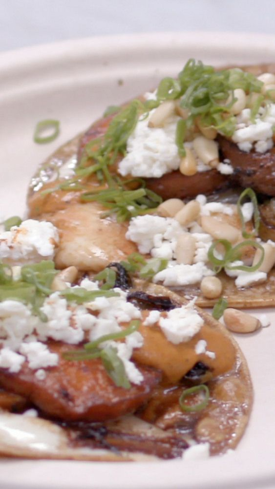 Chef Wes Avila of Los Angeless famed Guerrilla Tacos taco truck shares with us what goes into his popular sweet potato tacos a recipe inspired by his aunt
