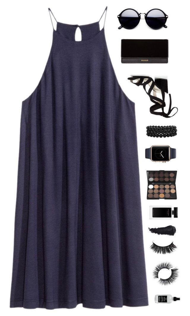 """""""Shooting Stars"""" by xxpai ❤ liked on Polyvore featuring Kenneth Cole, Balmain, Bling Jewelry and Little Barn Apothecary"""