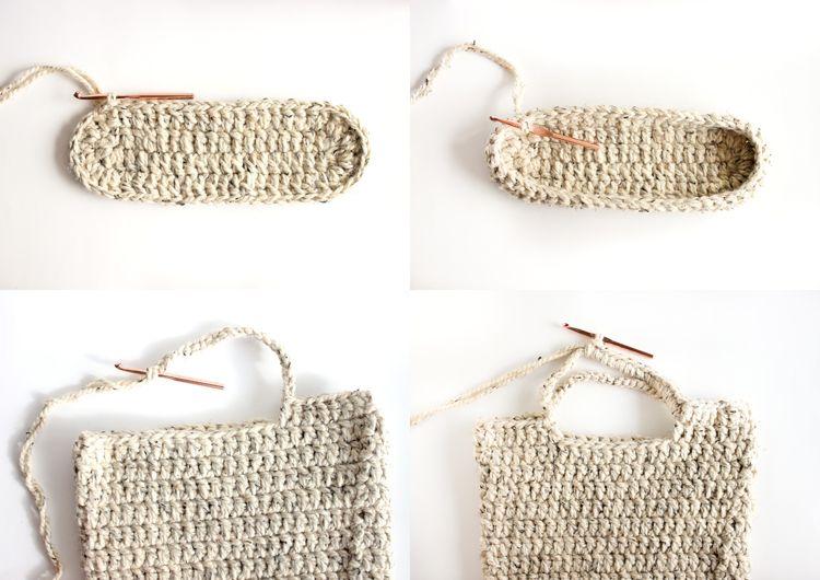 GRATIS patrón de crochet: totalizador robusto mercado // Crea Delia ...