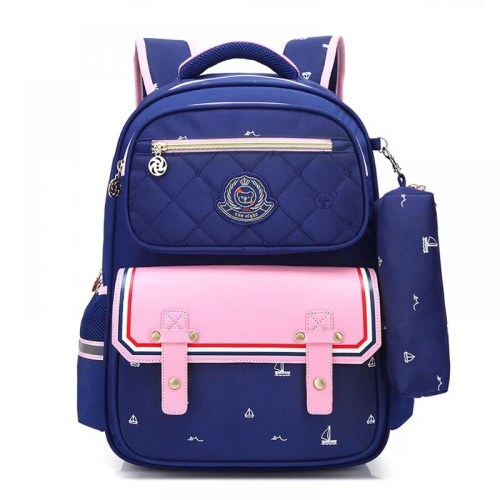 2018 Girls School Bag Large Waterproof Backpack Orthopedic Travel Rucksack Bags
