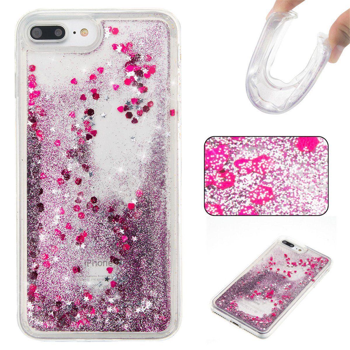 glitter gel iphone 8 case