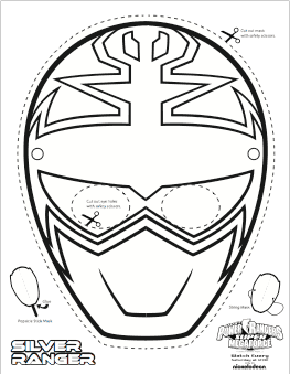Super Mega Power Rangers Printable Coloring Masks Life She Has Anniversaire Power Ranger Coloriage Power Rangers Masques Power Rangers