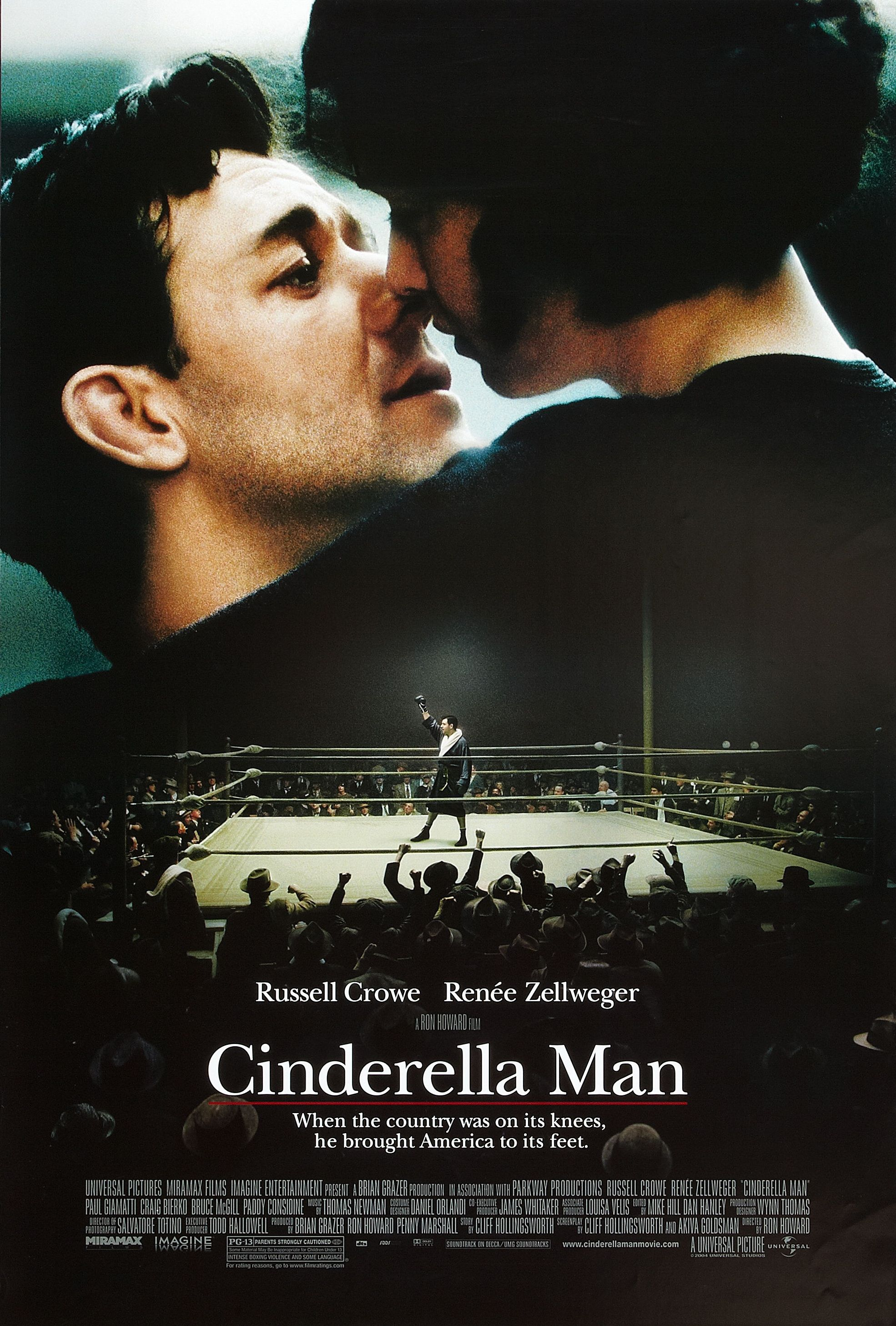 cinderella man - my favorite ron howard/russell crowe movie. when i