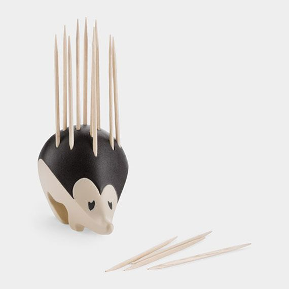 Too Cute: A Hedgehog Toothpick Holder   Incredible Things