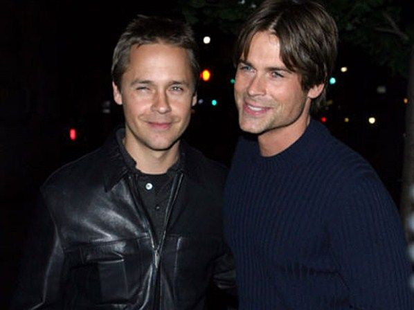 rob & chad lowe | BROTHERS | Pinterest | Rob lowe and ...