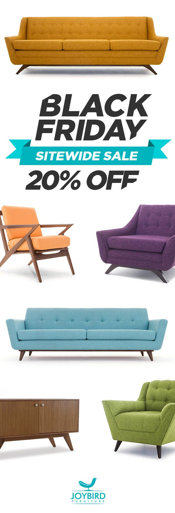 Make A Statement With Iconic Mid Century Modern Furniture From Joybird Enjoy Free In Home Delivery Lifeti Furniture Design Modern Furniture Joybird Furniture
