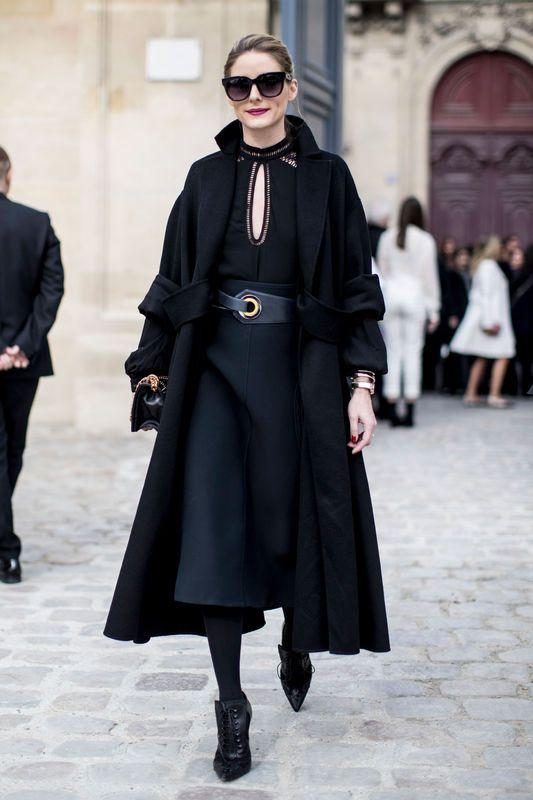 Street Fashion Paris Fashion Week Jesien Zima 2017 2018 Cool Street Fashion Fashion Week Street Style Winter Fashion Week Street Style