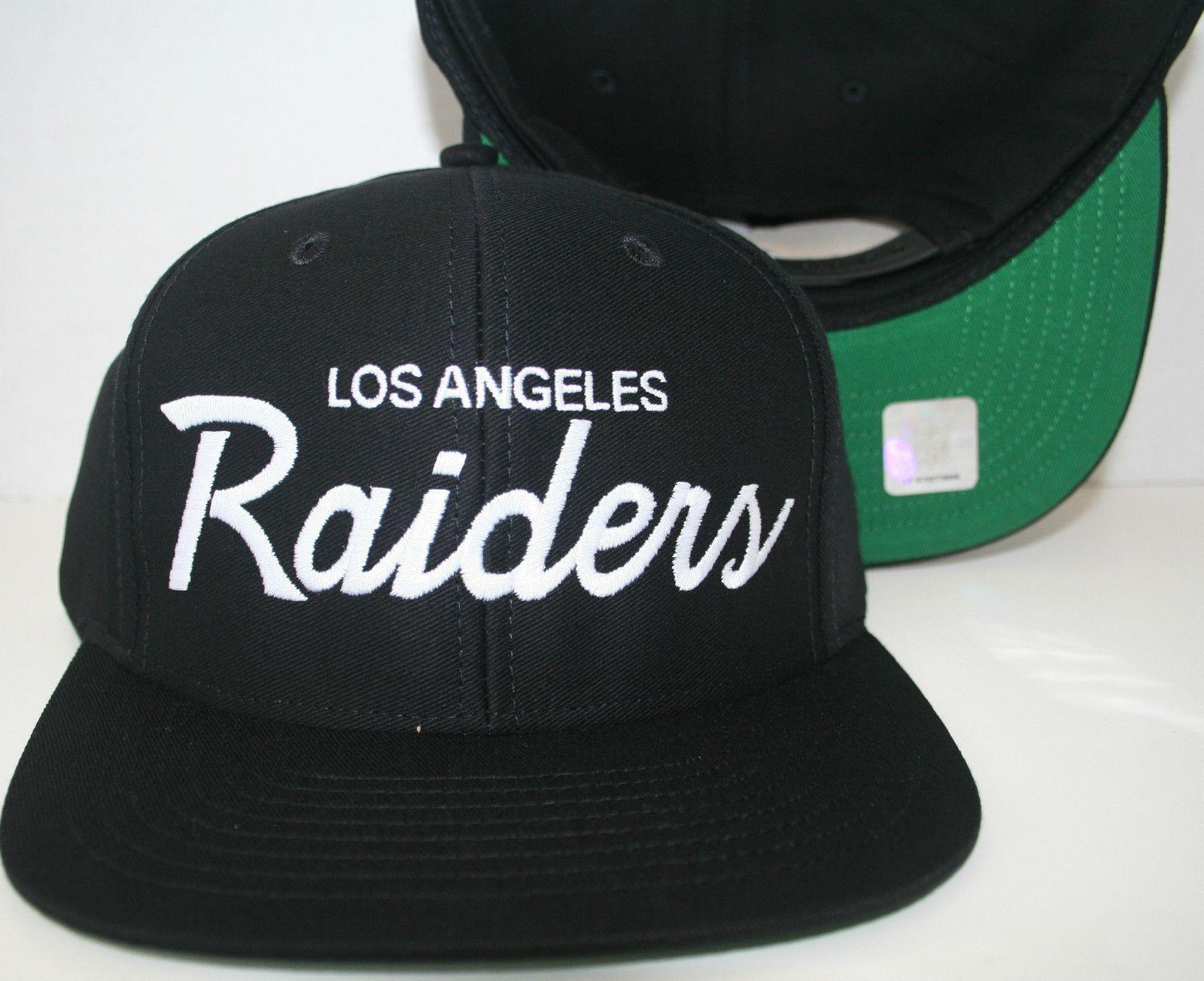 L A Raiders Hat Hats Raiders Retro