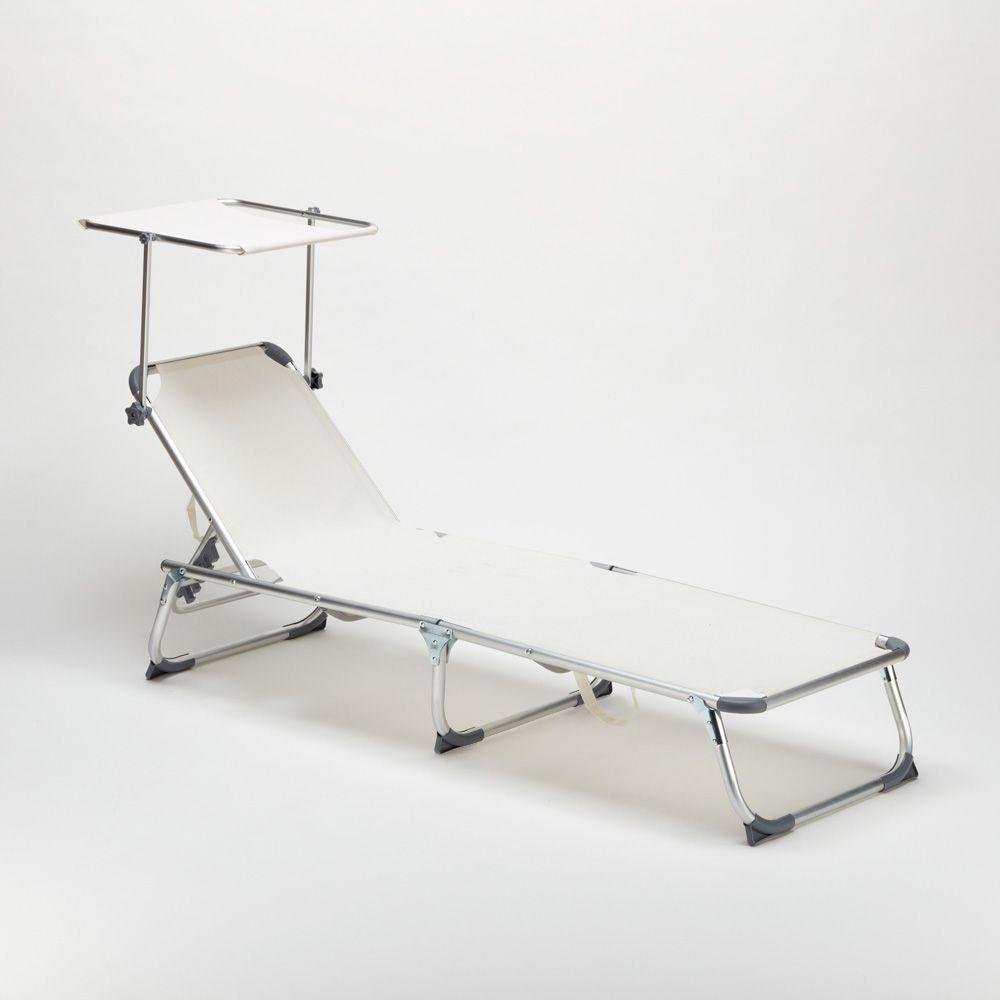 Lit De Plage Pliant Bain De Soleil Transat Piscine Portable Pare Soleil California Sun Lounger Folding Sun Loungers Deck Chairs