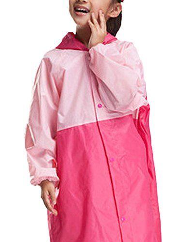 eea952763962 Liveinu Boys Girls Cute Rain Pant Rain Coat Set