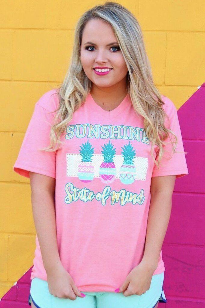 e72d0f77183 Jadelynn Brooke  Sunshine State of Mind - Short Sleeve   V-Neck ...