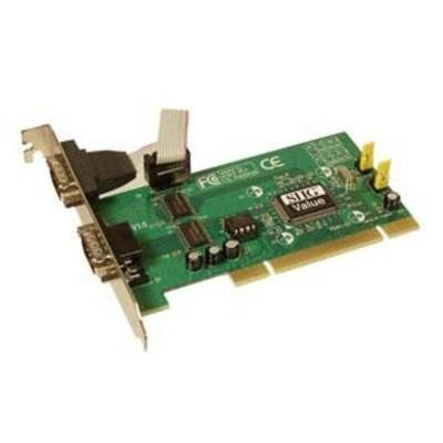 Can Be Installed In 32 64 Bit 33V 5V PCI And X Slots 2 Provides Two 16550 UART Serial Ports To Support Up 115 Kbps
