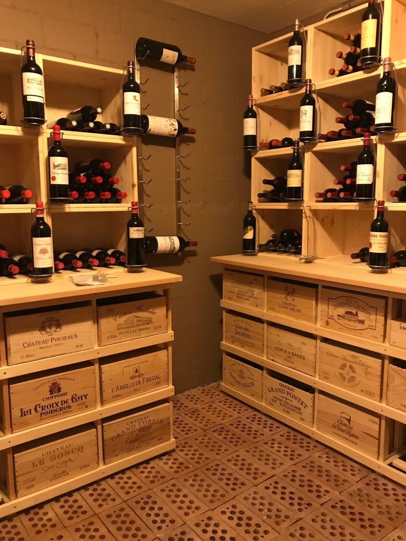 Caisse En Bois Pour Livre caisse en bois : stapel | caisse a vin, rangement vin et