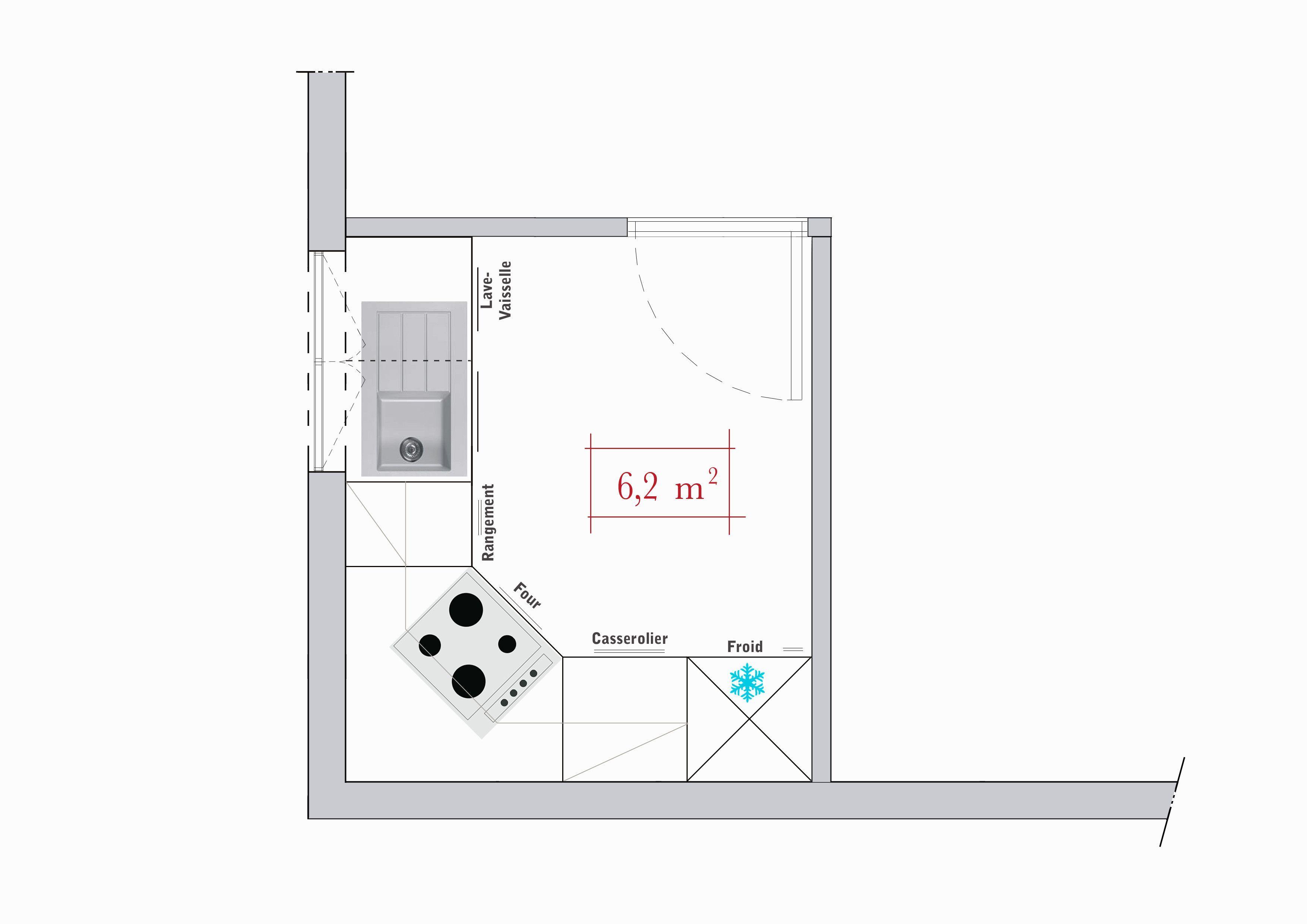 Conseils Darchitecte 3 Plans De Cuisine En L 3 Conseils Cuisine Darchitecte De En L Plans In 2020 With Images Floor Plans Corner Kitchen Cabinet Deco