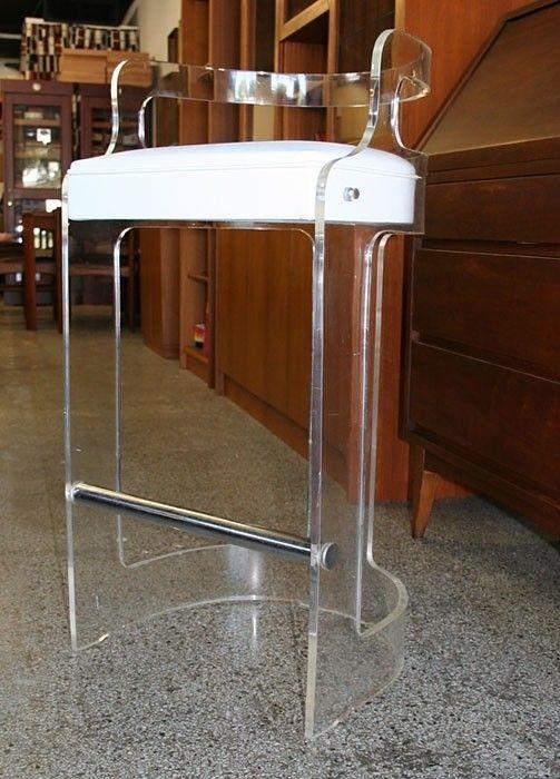 lucite bar stools  foter  lucite bar stools acrylic bar