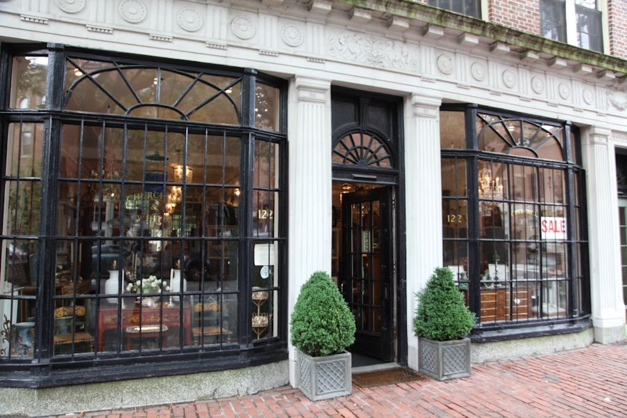 Churchill_Boston Antique Store | House exterior, Window ...