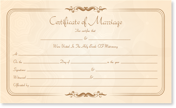 Get your lost marriage certificate made without any defects. See our ...
