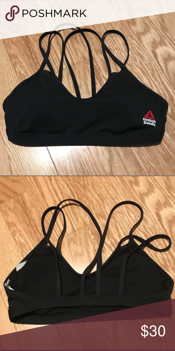 de20baffcc Reebok CrossFit Double Strappy Sports Bra 2017 CrossFit Games style sports  bra. It s a size Medium but the tags have been removed.